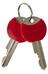 Trelock BC 515 Kettenschloss schwarz/rot